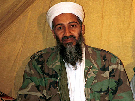 Osama bin Laden wife not used. told that Bin Laden took